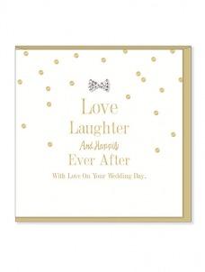 Ευχετήρια Κάρτα – Love Laughter, Wedding