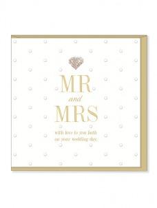Ευχετήρια Κάρτα – Mr & Mrs, Wedding