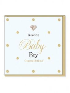 Ευχετήρια Κάρτα – Baby Boy