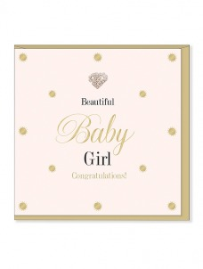 Ευχετήρια Κάρτα – Baby Girl