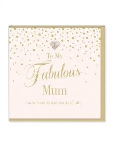 Ευχετήρια Κάρτα – Fabulous Mum