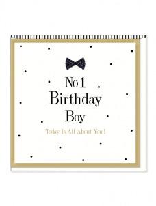 Ευχετήρια Κάρτα – No1 Birthday Boy