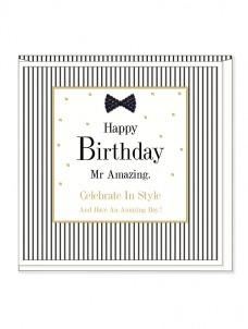 Ευχετήρια Κάρτα – Mr Amazing, Birthday