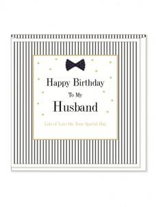 Ευχετήρια Κάρτα – Husband, Birthday