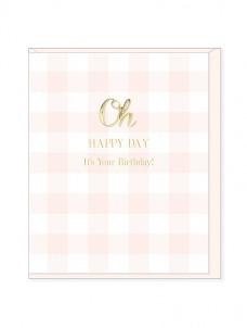 Ευχετήρια Κάρτα – Oh Happy Day, Birthday