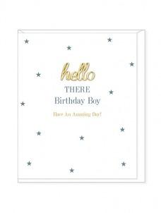 Ευχετήρια Κάρτα – Hello Birthday Boy
