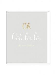 Ευχετήρια Κάρτα – Oh Ooh La La, Birthday