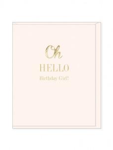 Ευχετήρια Κάρτα – Oh Hello, Birthday Girl
