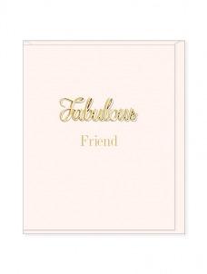 Ευχετήρια Κάρτα – Fabulous Friend