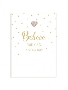 A5 Notebook – Believe You can And You Will