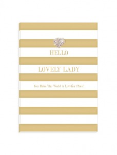 A5 Notebook – Hello Lovely Lady