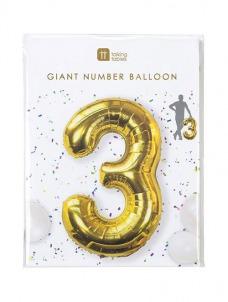Μπαλόνι χρυσό 3