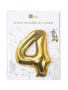 Μπαλόνι χρυσό 4