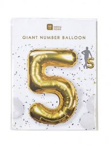 Μπαλόνι χρυσό 5