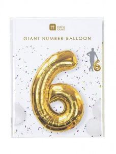 Μπαλόνι χρυσό 6