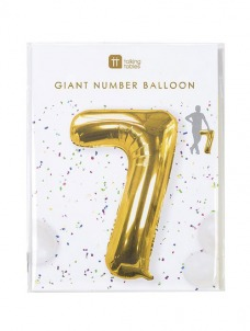 Μπαλόνι χρυσό 7