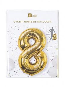Μπαλόνι χρυσό 8