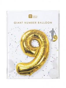 Μπαλόνι χρυσό 9