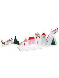 Meri Meri Ευχετήρια Χριστουγεννιάτικη Κάρτα Village Concertina