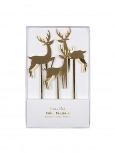 Meri Meri Διακοσμητικά Χριστουγεννιάτικα Sticks Τάρανδος