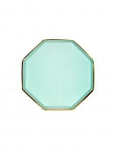 Meri Meri Πιάτο Γλυκού Οκτάγωνο Mint