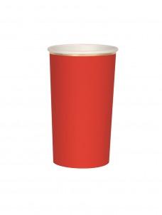 Meri Meri Ποτήρι Ψηλό (Coctail) Κόκκινο 400ml