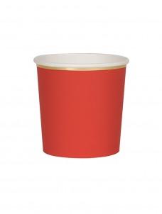Meri Meri Ποτήρι Χαμηλό (Κούπα) Κόκκινο 260ml