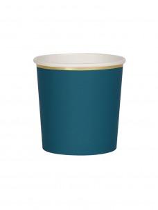 Meri Meri Ποτήρι Χαμηλό (Κούπα) Dark Green 260ml