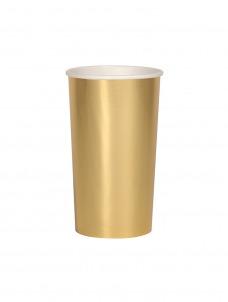 Meri Meri Ποτήρι Ψηλό (Coctail) Χρυσό 400ml