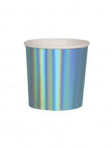 Meri Meri Ποτήρι Χαμηλό (Κούπα) Holographic Blue 260ml