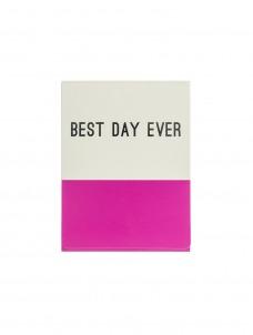 Mini Σημειωματάριο Best Day Ever