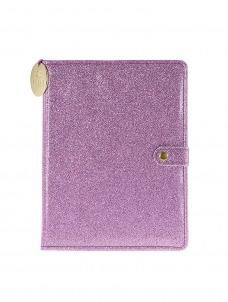 Ημερολόγιο Λιλά με glitter