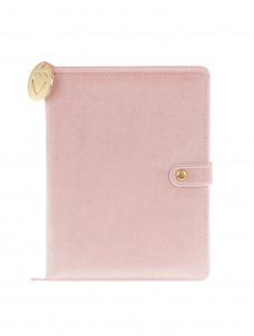 Ημερολόγιο Ροζ velvet