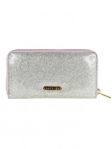 Πορτοφόλι Λευκό με glitter