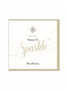 Ευχετήρια Χριστουγεννιάτικη κάρτα It's the Seasosn To Sparkle