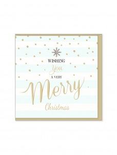 Ευχετήρια Χριστουγεννιάτικη κάρτα Wishing you a very Merry Christmas