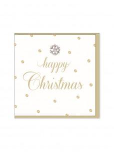 Ευχετήρια Χριστουγεννιάτικη κάρτα Happy Chrismas