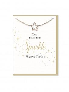 Ευχετήρια Κάρτα μαζί με βραχιολάκι Wherever you Go
