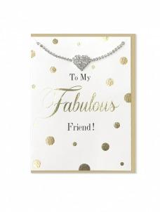 Ευχετήρια Κάρτα μαζί με βραχιολάκι It's A Wonderful Life