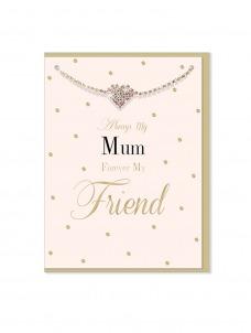Ευχετήρια Κάρτα μαζί με βραχιολάκι My Mum
