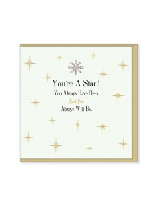 Ευχετήρια Κάρτα You're A Star