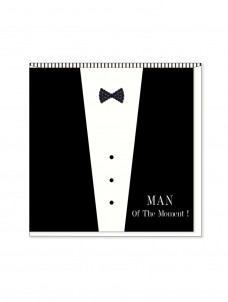 Ευχετήρια Κάρτα Llack Tie Card