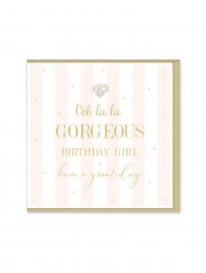 Ευχετήρια Κάρτα La Gorgeous
