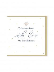 Ευχετήρια Κάρτα To Someone Special With Love