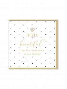 Ευχετήρια Κάρτα Hello Beautiful