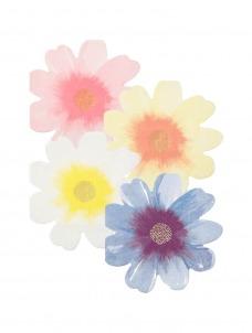 Meri Meri Χαρτοπετσέτα Λουλούδια