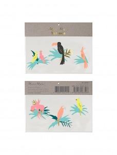 Meri Meri Τατουάζ Tropical Bird