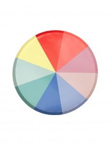Meri Meri Πιάτο Μικρό Colour Wheel