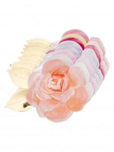 Meri Meri Πιάτο Ροζ Τριαντάφυλλο