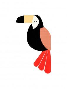 Χαρτοπετσέτα Μεγάλη Toucan